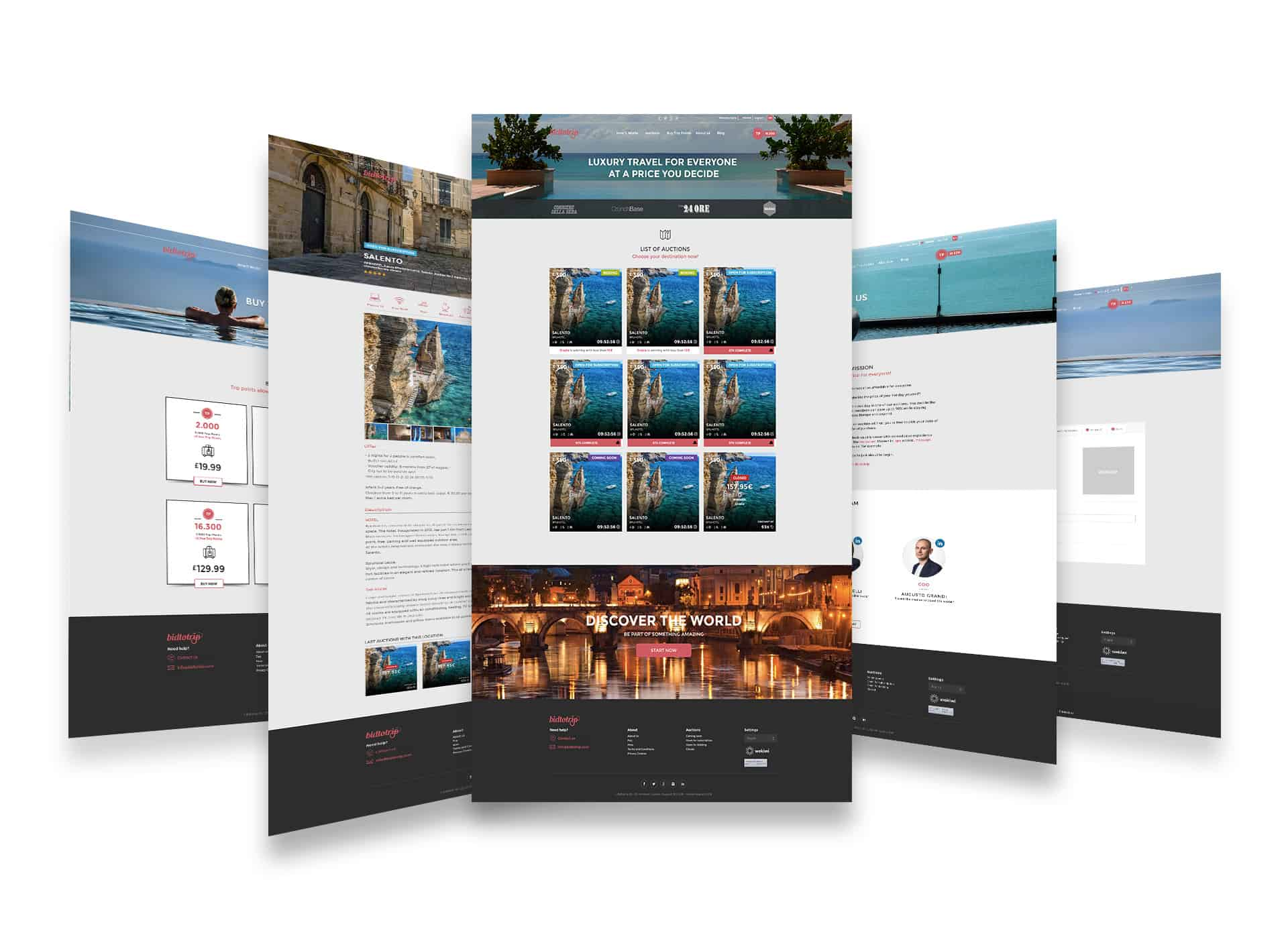 PROPAGANDA - bidtotrip screens