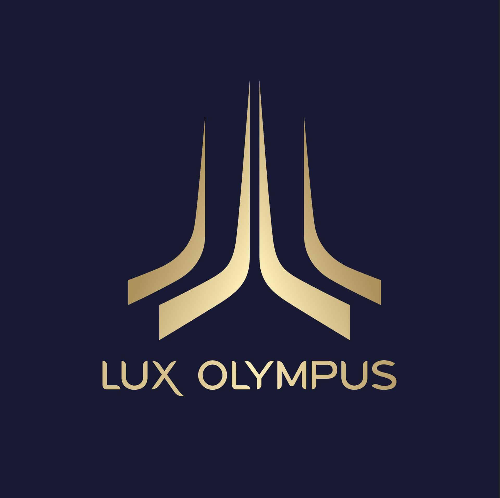 PROPAGANDA - lux olympus logo BLUE